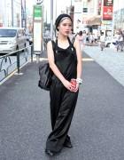 Limi Feu Wide Leg Jumpsuit, Stussy Women & DKNY in Harajuku
