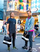 Axwell & Ingrosso on the Street in Harajuku, Japan
