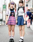 Harajuku Girls w/ Colored Bangs, Aymmy in the Batty Girls, Nadia & Spinns
