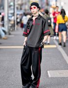 BERCERK Brand Director in Harajuku w/ Another Youth, Ambush & Elephant TRIBAL Fabrics