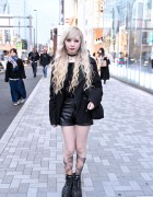 Blonde-Haired Harajuku Girl w/ Choker Cameo & Yosuke Platforms