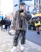 Shoshipoyo w/ Buccal Cone, Pin Nap, Moschino, OS Accessories & Cyber Dog in Harajuku