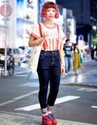 Candy Stripper, Spinns & Gremlins Harajuku Street Fashion