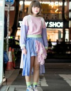 Pastel Cathy Southpaw Style w/ Nakano Ropeway & Decotrand in Harajuku