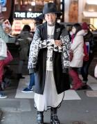 Harajuku Guy in Choco Moo x BPM, UNIF & YRU Fashion