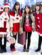 Christmas in Harajuku 2013 Pictures – Meiji Dori & Harajuku Dori
