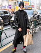 Harajuku Guy in Comme Des Garcons