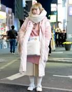 Harajuku Vintage Street Style w/ Zetsukigu Coat & Handmade Fashion