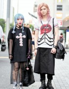 Devil666ish Designers in Harajuku w/ Harness, Avantgarde Tights & Vivienne Westwood