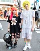 Devilish Designers in Harajuku w/ Colorful Hair, Spikes & Studs