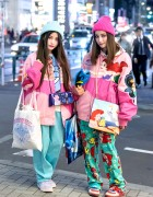 Disney Princess Bomber Jackets, Colorful Fashion & Cute Accessories in Harajuku