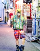 Dog Harajuku Fashion, Fangophilia Rings, MYOB NYC Bag & Pikachu