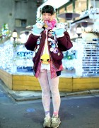 Elleanor in Harajuku w/ Bomber Jacket, Pikachu, Yurie Sekiya & New Balance