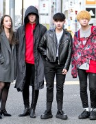 Harajuku Street Styles w/ 8Seconds, Facetasm, Acne Studios, Another Youth & Ganryu