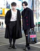 Harajuku Mens Street Styles w/ Faline Tokyo, Phenomenon, Acne Studios & VEI-8