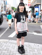 Game-Themed Harajuku Street Style w/ Famicom, Barbie & Pokemon