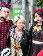 Tokyo Fashion Week Snaps w/ HEIHEI, Funktique, RinRin Doll, Elleanor, Models, Hachiko & More