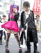 Visual Kei Fans in Harajuku w/ Sex Pot Revenge, Fernopaa, Strange Freak & Colorful Hair