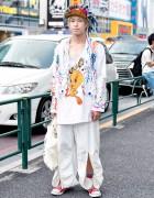 Ganryu Comme Des Garcons, Dog Harajuku & Kengo Shimizu Tokyo Street Fashion