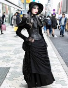 Harajuku Gothic Lace Street Style w/ Abilletage Corset & Vimoque
