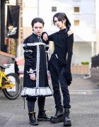 Gothic Japanese Street Styles in Harajuku w/ Alice Auaa, Demonia & Handmade Fashion
