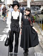 Dark Harajuku Styles w/ Dip Dye, Top Hat, Atelier Boz & Miho Matsuda