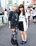 Harajuku Girls w/ Green Hair, Monomania, Cyberdog & Resale Items