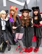 Halloween Costumes on the Street in Harajuku & Shibuya