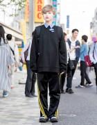 Harajuku Street Style w/ Faith Tokyo Ripped Sweatshirt, Chance Chance & Tokyo Bopper