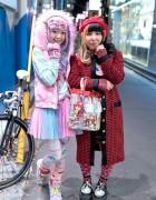 Kawaii Harajuku Styles w/ Yowamushi Pedal, 6%DOKIDOKI, Nile Perch & WEGO