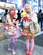 Harajuku Decora Girls w/ Kuroko's Basketball Goods & Colorful Fashion