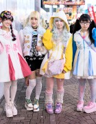 Harajuku Girls in Kawaii Fashion by Conpeitou & COSMICmagicals