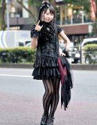 Gothic Lolita Harajuku Street Style w/ Corset, Sheglit, Na+H, Ozz On & Miho Matsuda