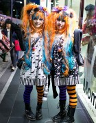 Harajuku Halloween Girls on Takeshita Dori