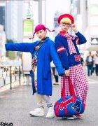 P-Chan & Karin Tempura Kidz in Harajuku w/ Colorful Kawaii Street Styles