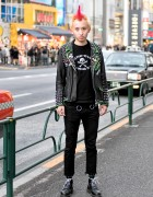 "Harajuku Punk in Leather, Spikes & ""Too Fast To Live, Too Young To Die"""