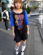 World's Cutest Rush Fan in Harajuku