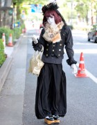 Harajuku Shironuri w/ Angelic Pretty Bag & Vivienne Westwood Shoes