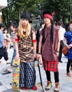 Harajuku Skaters w/ Alice Black Ring & Jeremy Scott Sneakers