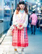 Cute Harajuku Street Style w/ Zetsukigu, Jenny Fax, Yurie Sekiya Plush & Tokyo Bopper