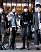 Harajuku Teen Street Styles w/ Yohji Yamamoto, Lad Musician, HelloHell, Ambush & Margiela