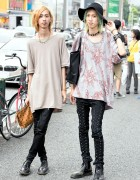 Harajuku Twins in Undercover, Vivienne Westwood, Dr. Martens & MCM