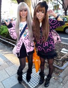 Japanese Hello Kitty Girls in Harajuku