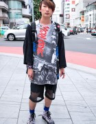 """Skid Row """"Slave to the Grind"""" x Hiro Sneakers in Harajuku"""