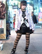 Harajuku Girl in Hyper Core Sukajan, Morph8ne & Vivienne Westwood
