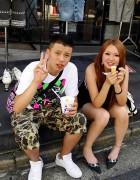 X-Large & Ice Cream in Harajuku