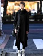 Minimalist Harajuku Street Style w/ Issey Miyake ME, Comme Des Garcons, Yohji Yamamoto & Cinzia Araia