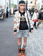 Monomania Bomber, Jeremy Scott x Adidas & World Wide Love in Harajuku