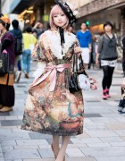Pretty Juliette et Justine Dress, Victorian Maiden & Butterflies in Harajuku