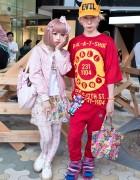Colorful Harajuku Street Style w/ Nile Perch, Bows, Bears, Cupcakes & Evil